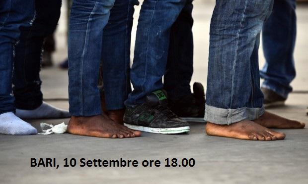 Immagine di Il 10 settembre a Bari la marcia delle donne e degli uomini scalzi a sostegno dei migranti