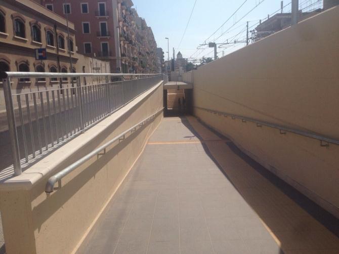 Immagine di Bari, inaugurato il sottopasso ciclopedonale di via Emanuele Mola
