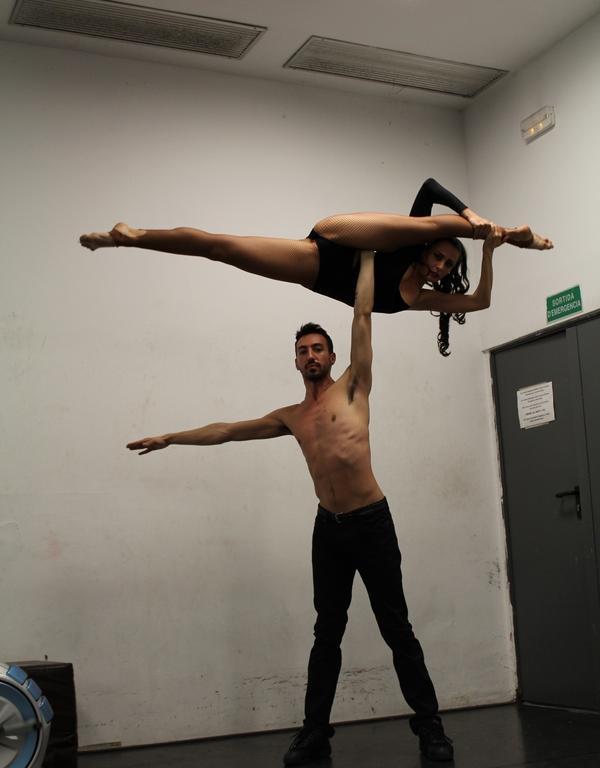 Immagine di L'Angiulli ospita acrobati di livello internazionale