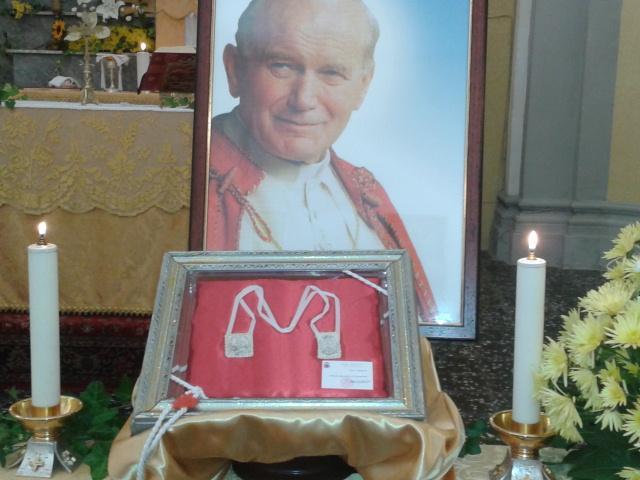 Immagine di Reliquia di Papa Wojtyla a Polignano